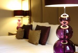 Bettwaäsche und Beleuchtung unser Wohnungen auf Zeit